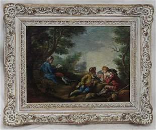 German School (Early 19th Century) – Three figures