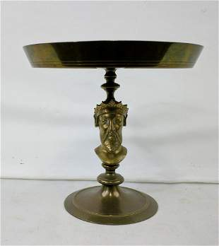 Renaissance Revival Brass or bronze Tazza
