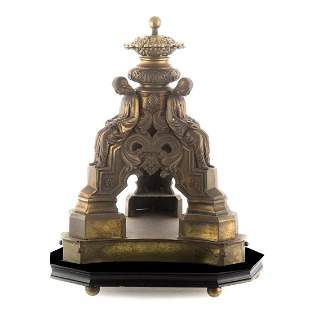 19 Century French Bronze Table (Lamp) Base