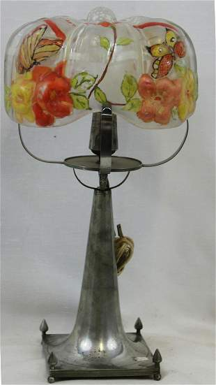 Pairpoint Glass Lamp