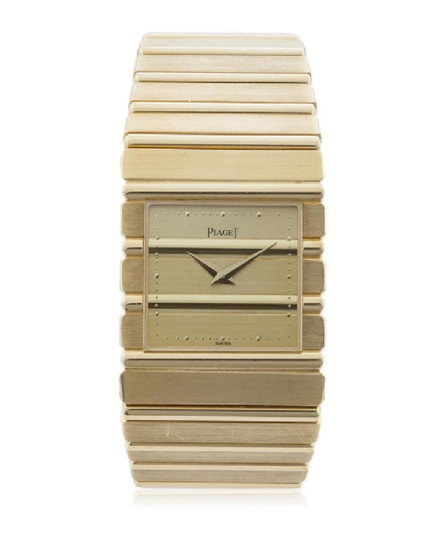 Geltlemens Piaget Polo Wrist Watch