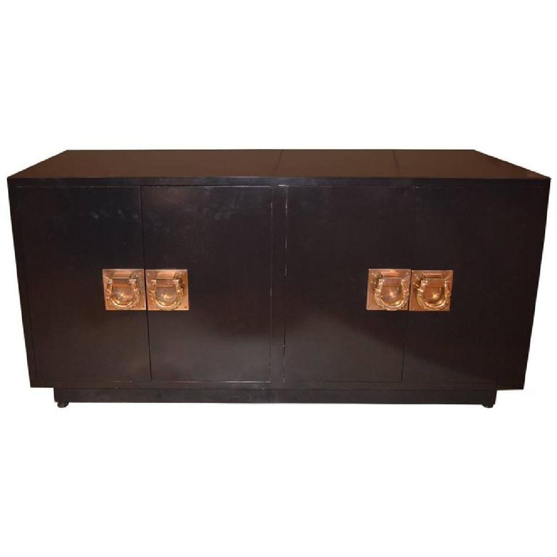 id-Century Modern Lacquered Credenza