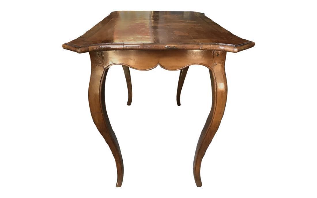 ANTIQUE 18th Century German Inlaid Walnut Table