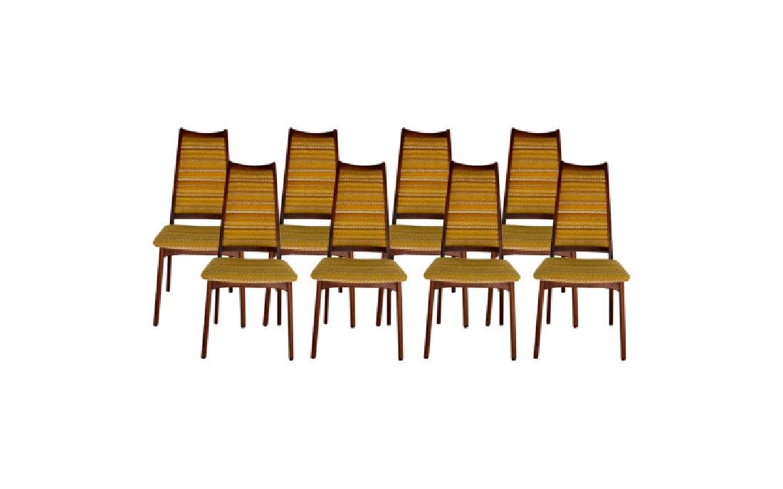 DANSK 1960s Danish Rosewood Dining Chairs