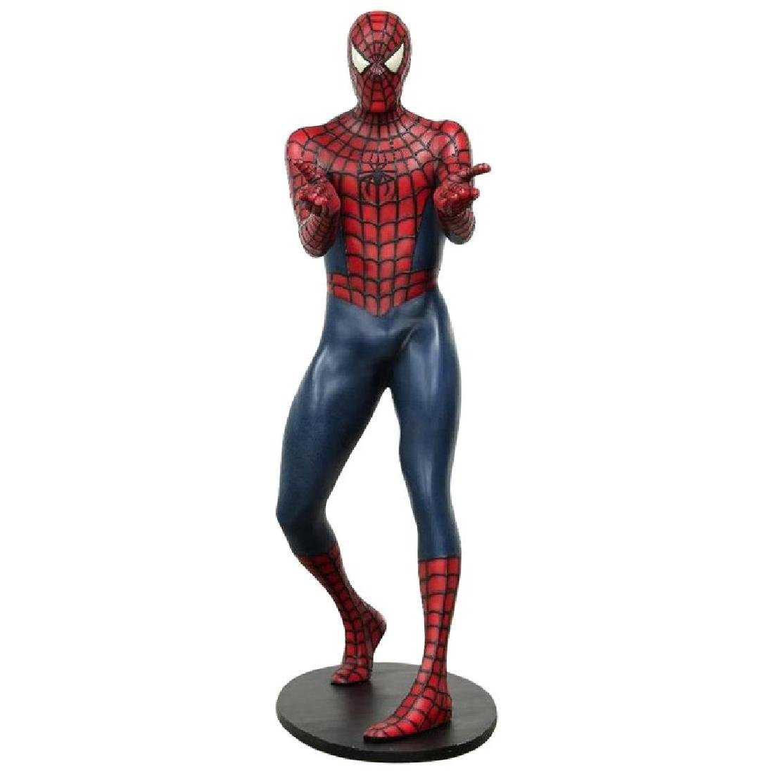 Life Size Comic Hero Spider-Man Model