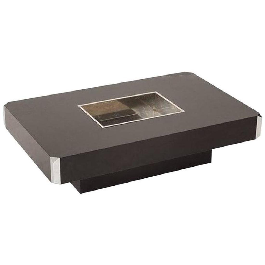 Willy Rizzo, Alveo Open Bar Planter Coffee Table