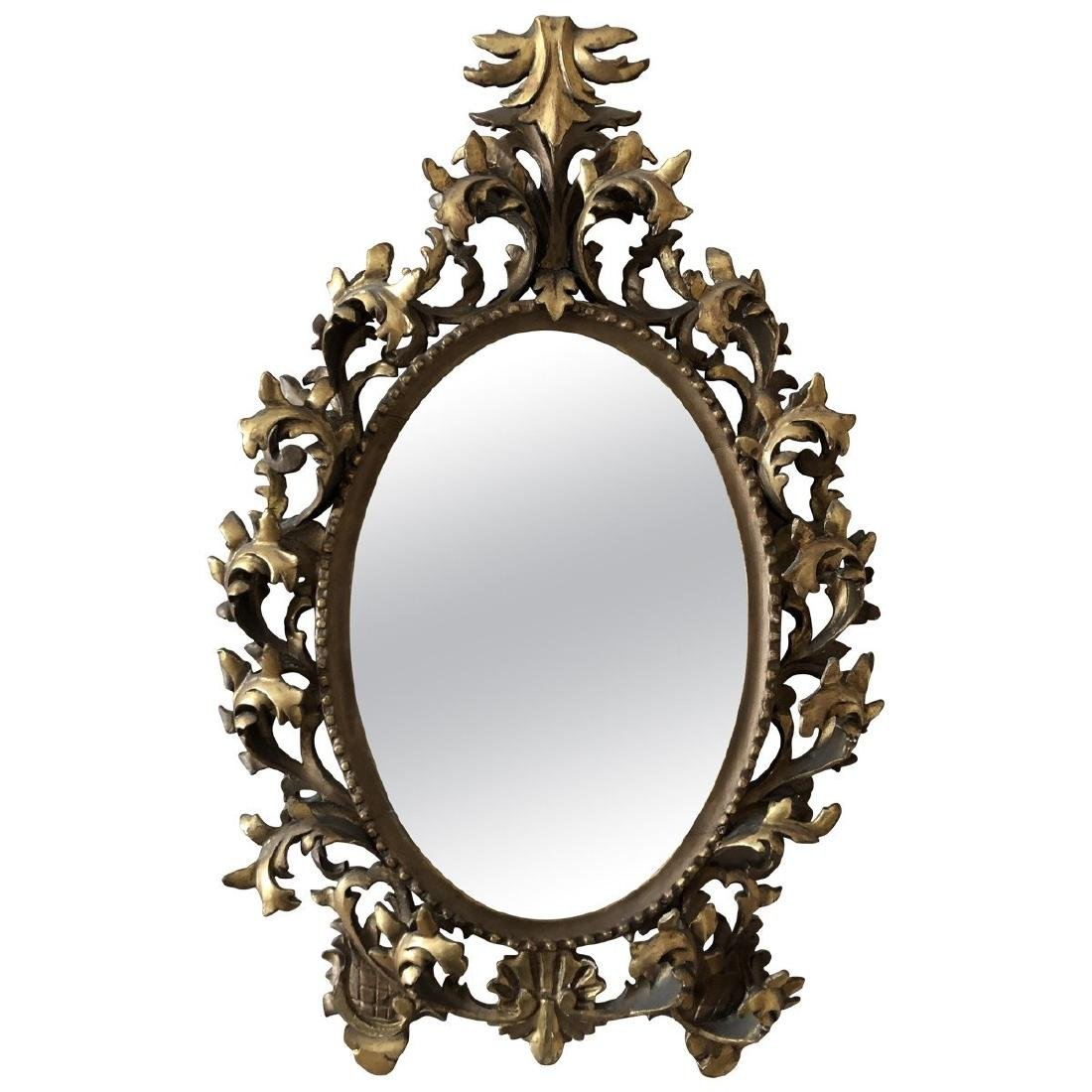 Baroque Style Carved Mirrors 20th Century - 2