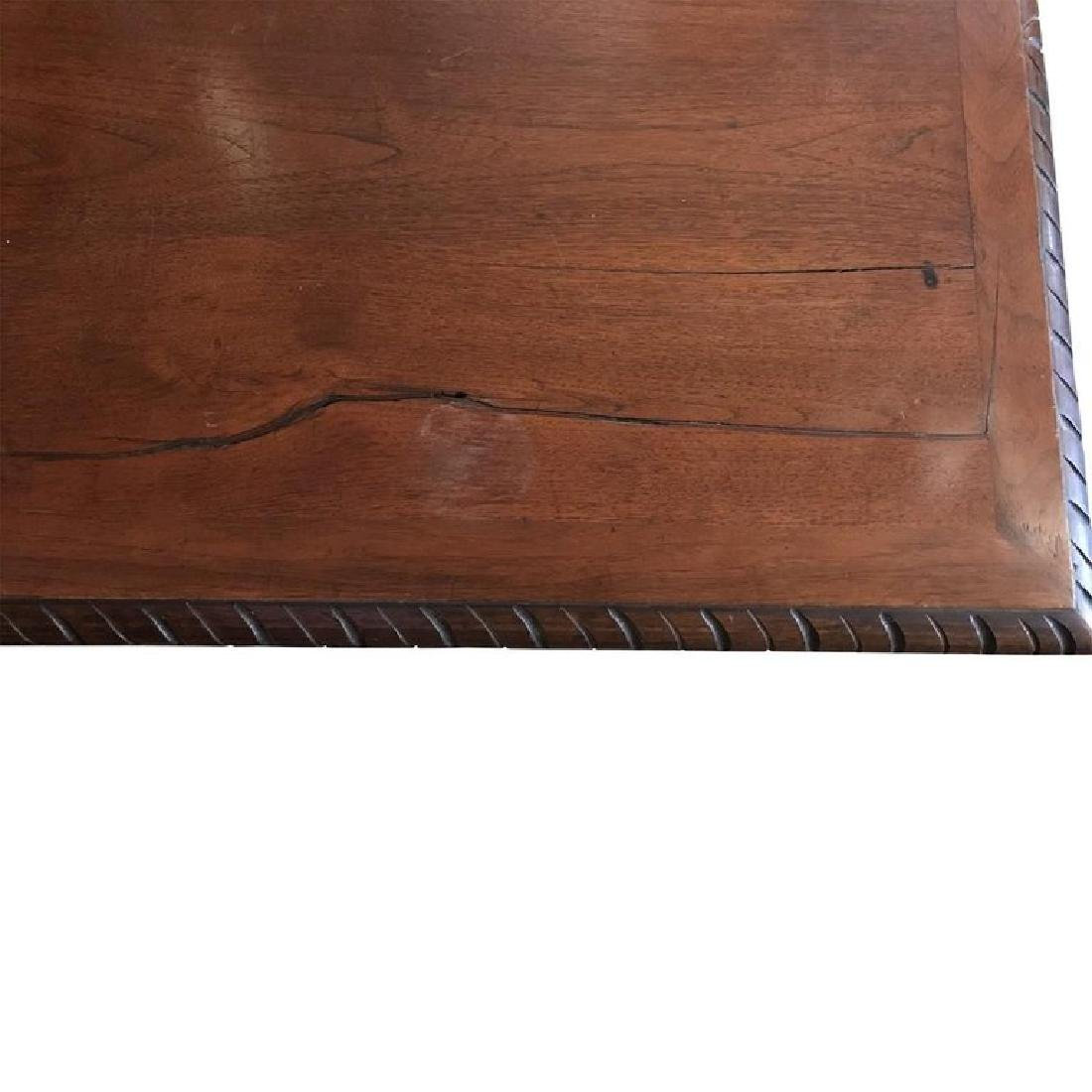 Renaissance Style Carved Walnut Refectory Table - 3