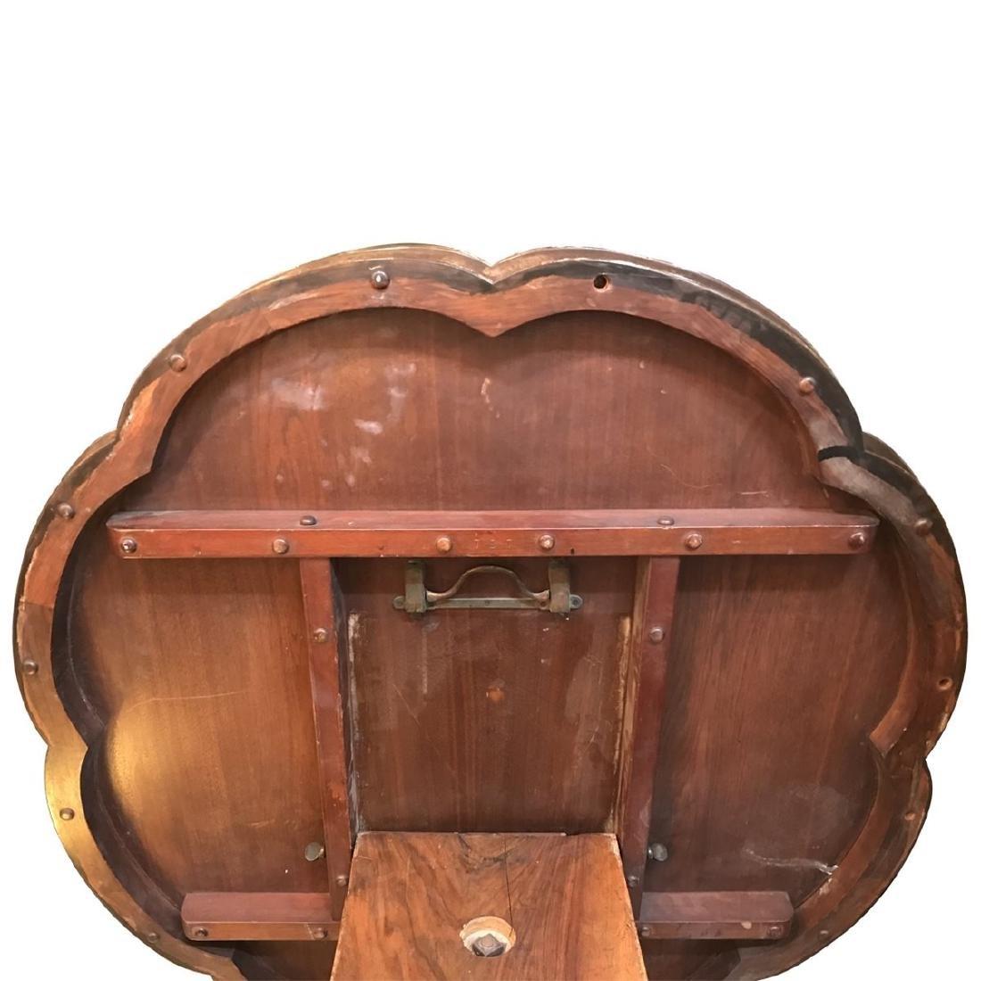 Victorian Victorian Rococo Revival Style Burl Walnut - 4