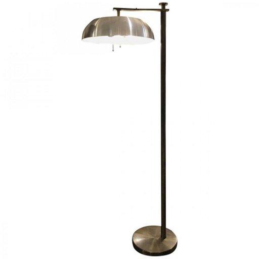 Kurt Versen Flip Top Floor Lamp Mid 20th Century