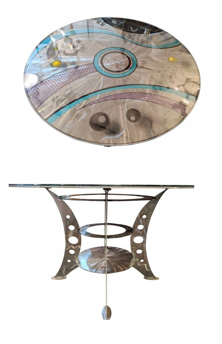 """""""Postmodern Round Dining Table"""""""