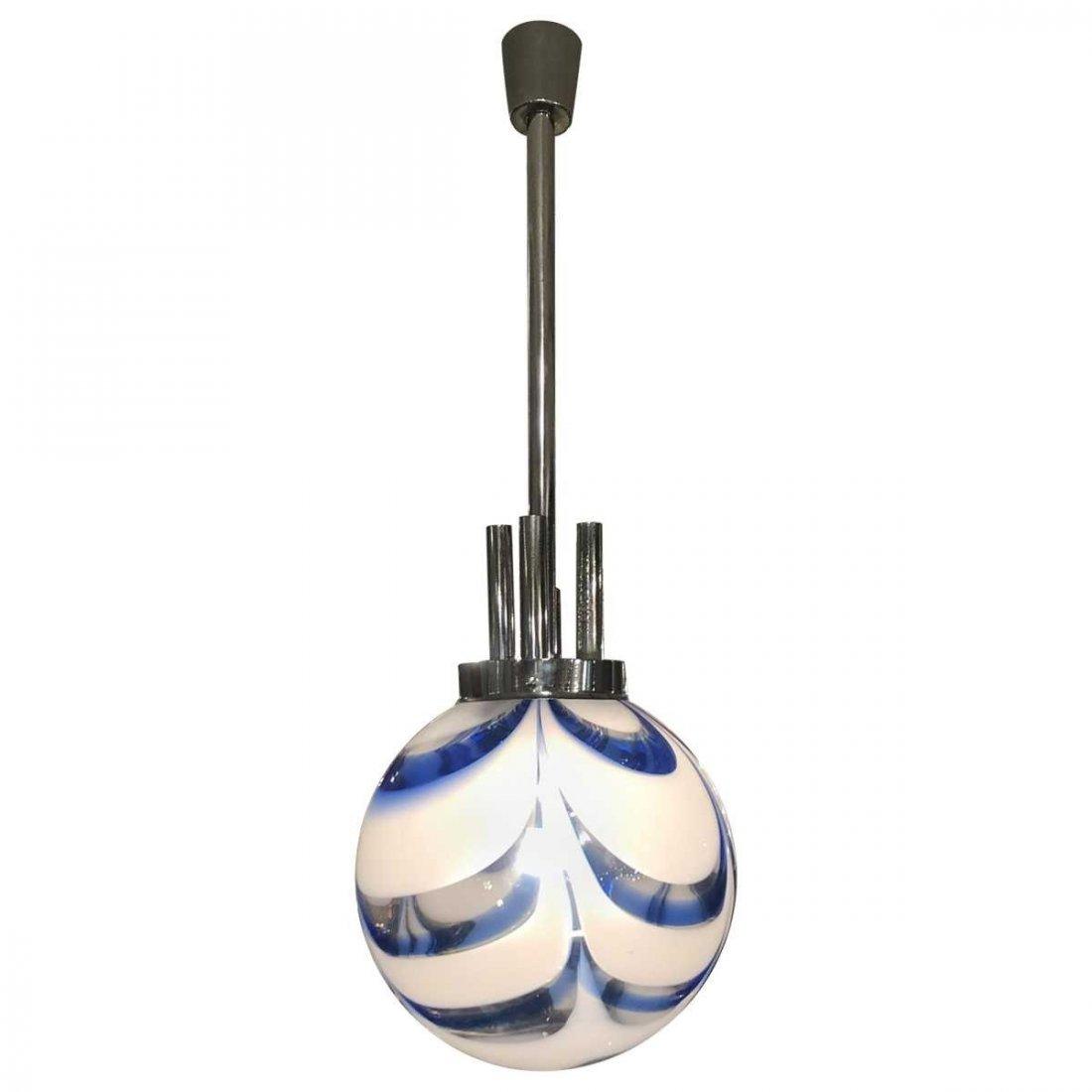 """""""Mid-Century Modern Murano Handblown Globe"""""""
