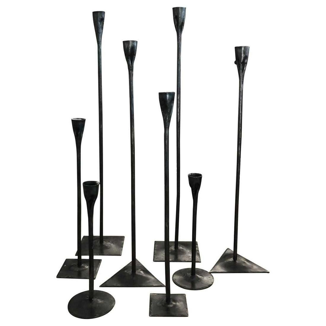 Contemporary Higly Decorative Standing Candle Holders