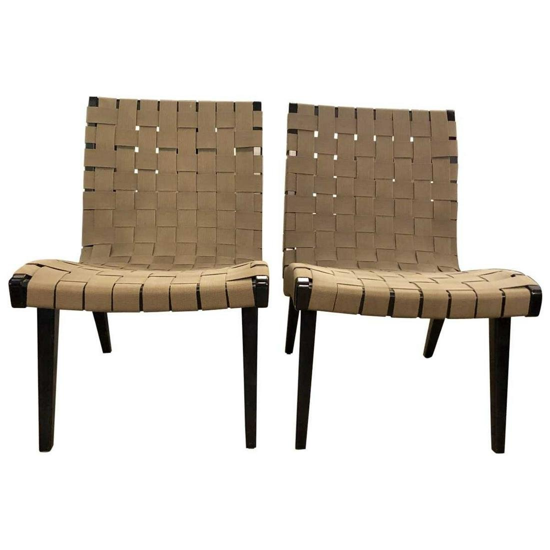 Jens Risom Indoor/Outdoor  Lounge Chairs