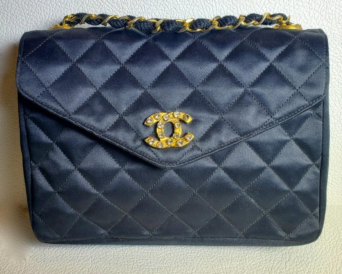 Chanel Vintage Black Clutch & Hand bag