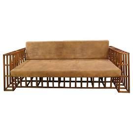 Italian Contemporary Modern Constructivist Sofa