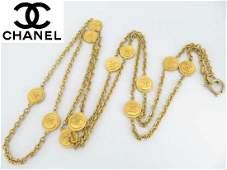 Authentic Chanel Vintage CC Necklace