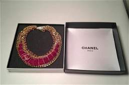 Limited Edition Authentic Chanel Runway Kneckless
