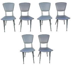 Set of 80s Italian Dinning Chairs