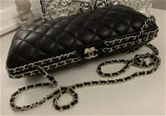 Authentic Rare Runway Chanel Clutch
