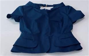 Womens Small Prada Blue Blouse