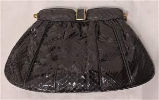 Vintage Black Cluthc