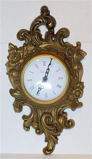 Rococco Style Clock