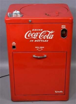 Extremely Rare Vintage Vendo 10Cent Coca Cola Sign