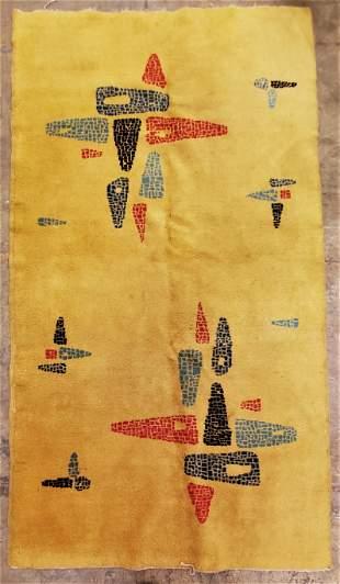 Contemporary Mid Century Rug by Zeki Muran