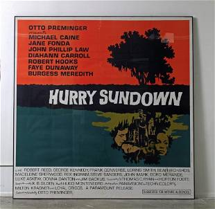Large Scale Movie poster Hurry Sundown