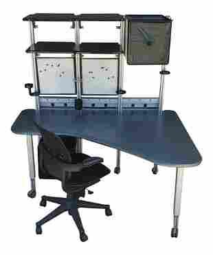 Modern Desk By Richard Hollbrook for Herman Miller
