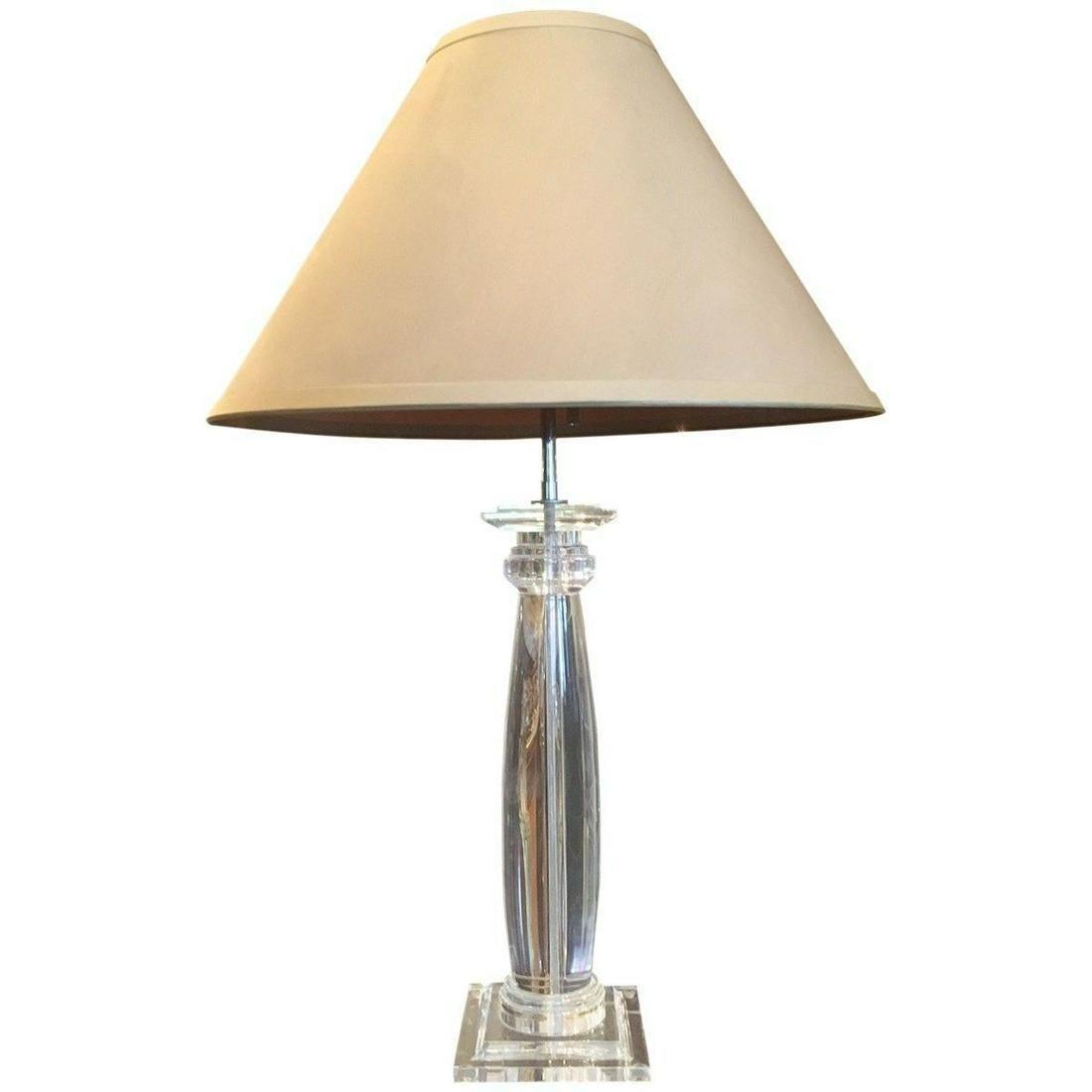Modern Acrylic Column Table Lamp