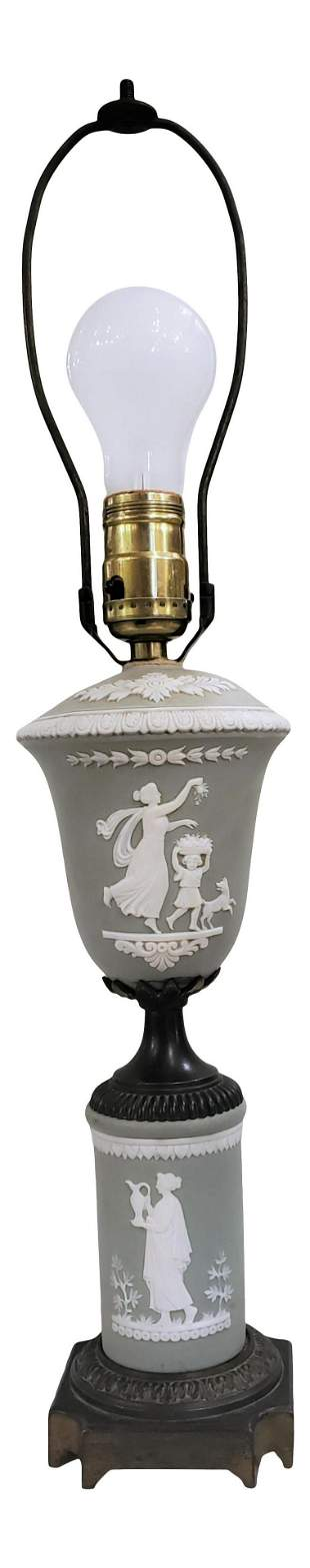 Vintage Wedgewood Porcelain Table lamp