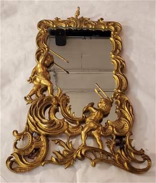 Antique Gilt French Mirror Frame