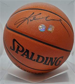 Authenticed Kobe Bryant Signed Basket Ball by PSA/DNA
