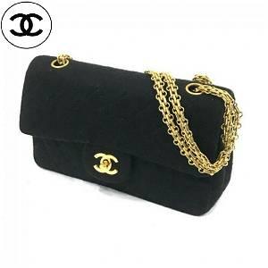 Authen. Classic Chanel Double Flap Hand Bag