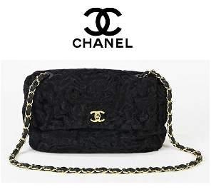 Unique Chanel Limited Edition Persian Lamb Shoulder bag