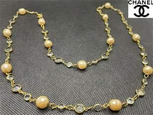 Vintage Chanel Pearl Necklace