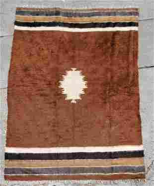Hand Made Mohair Mid Century Rug