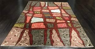 Hande made 6ft10in X 10ft10in ZEKI MUREN rug