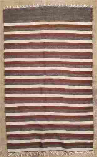 Vintage Mohair Turkish Hand Made Rug 52 x 32