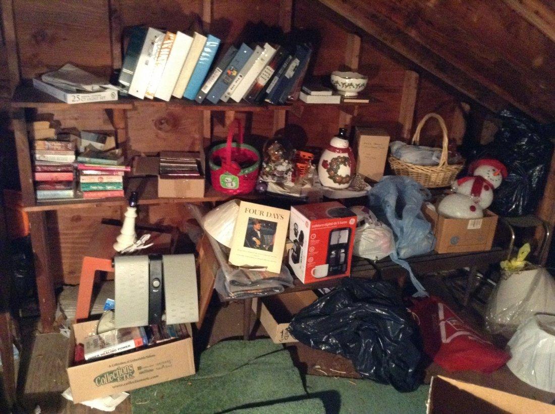 Far corner of attic