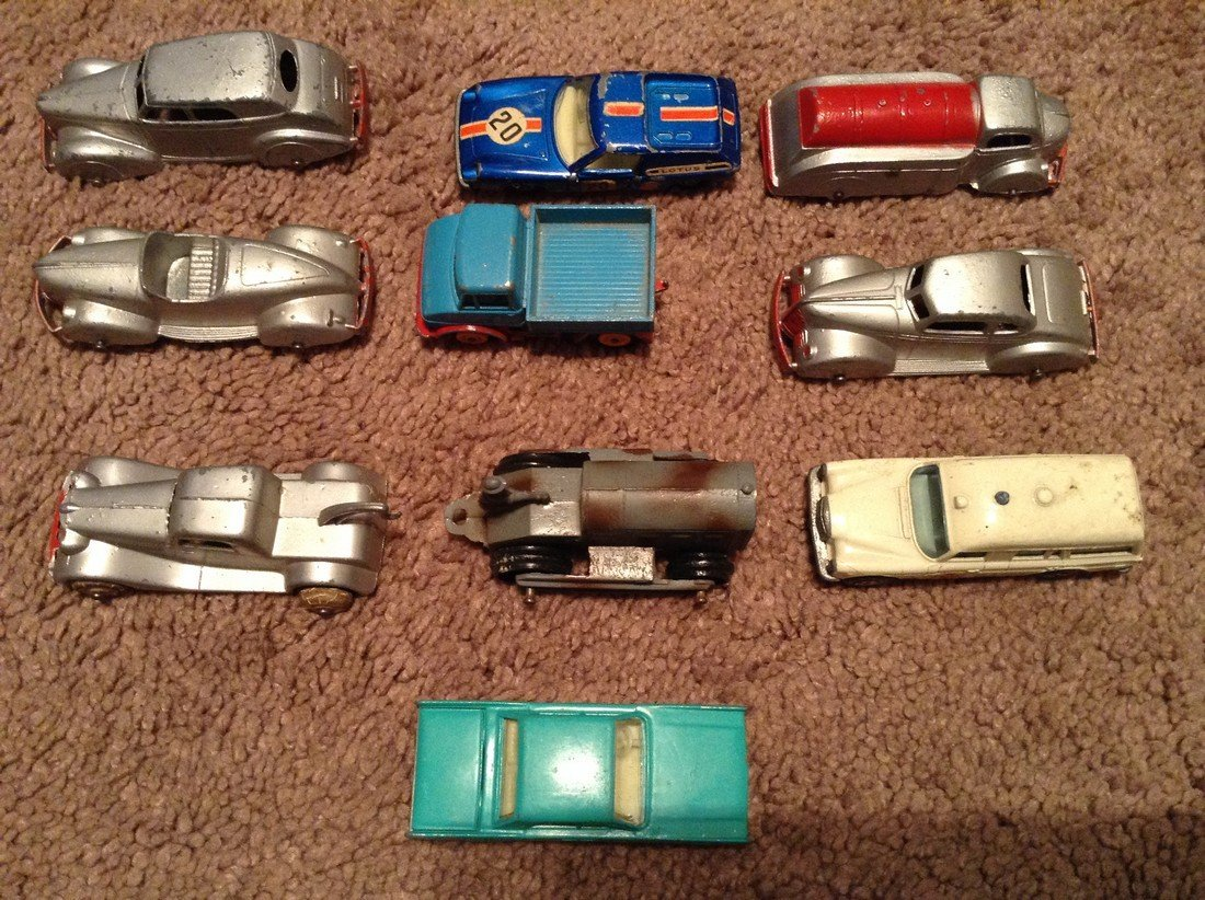 Vintage Match Box and Tootise Toy Cars