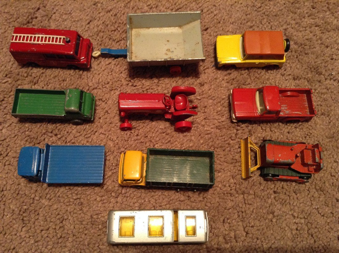 Vintage Lesney Match Box Cars