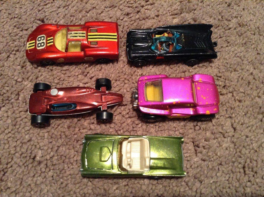 Hot Wheels Redline and Lesney Matchbox, and Corgi Car