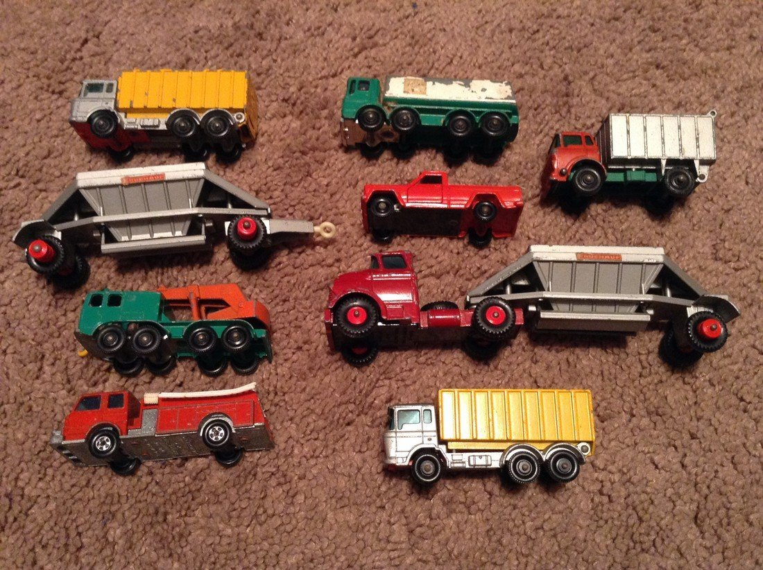 Lesney Matchbox Car/Truck Lot