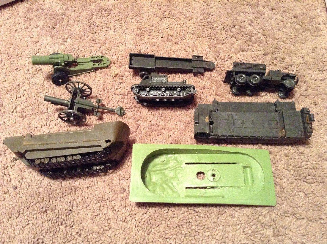 Vintage Military Plastic Vehicles