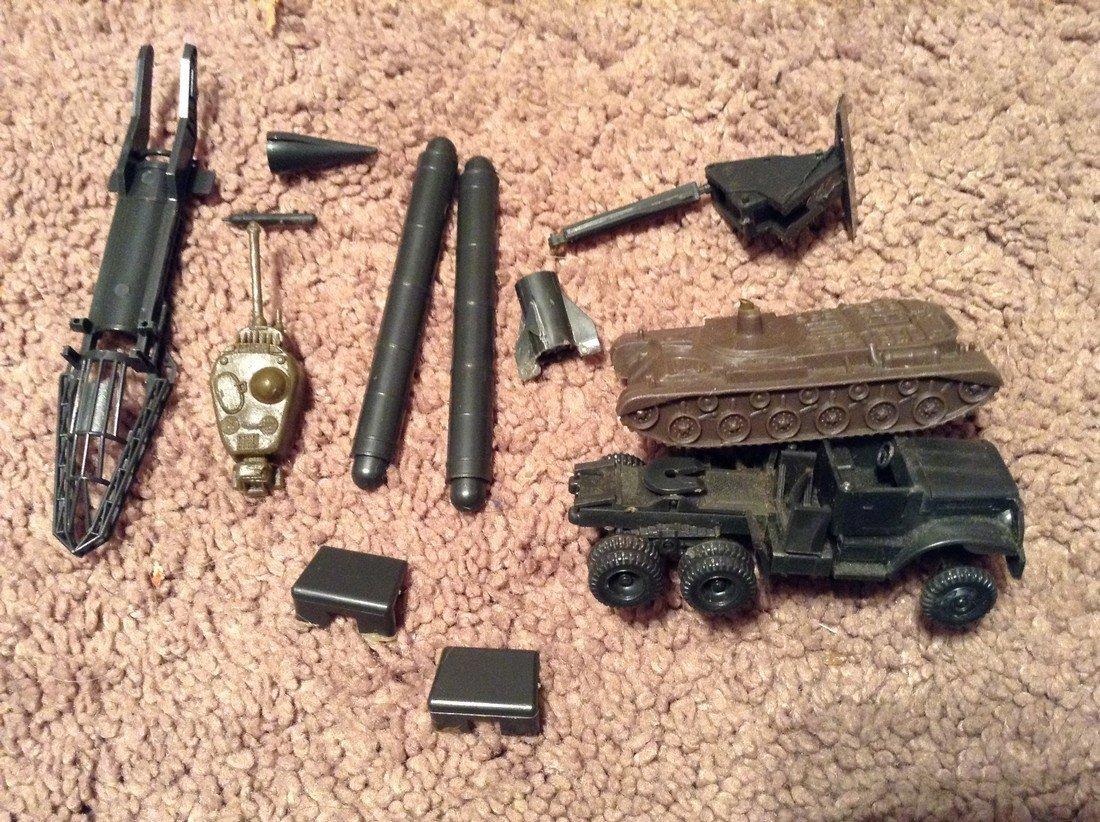 Vintage Military Plastic Vehicles - 2