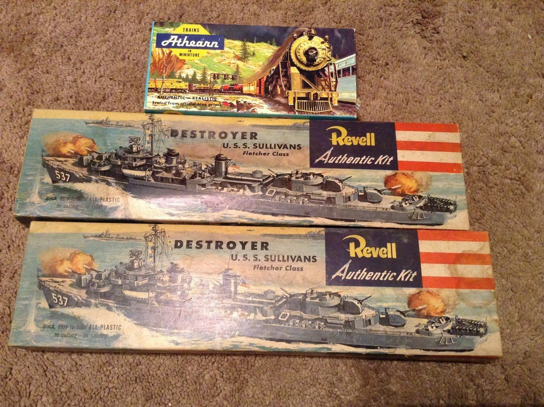 Revell and Athearn Models