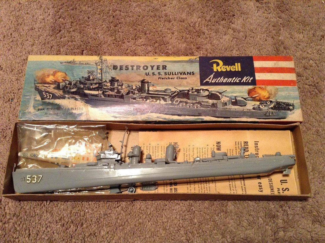 Revell and Athearn Models - 3